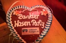 Auf geht's zur Bankier Wasen Party!